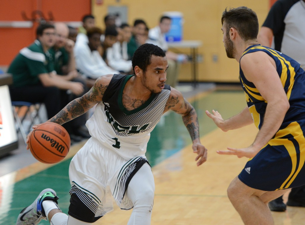 Mark Johnson had 13 points and nine rebounds for the Cascades on Friday. (UFV Athletics file photo)