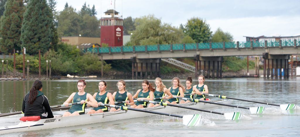 The Bedford Channel at Fort Langley is the Cascades club rowing program's home.