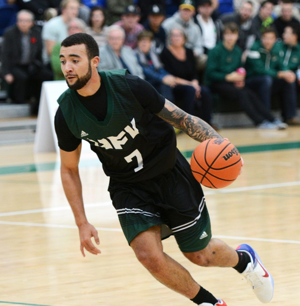 Denver Sparks-Guest scored 10 points and added a team-high eight rebounds in Saturday's win over TWU. (UFV Cascades file photo)