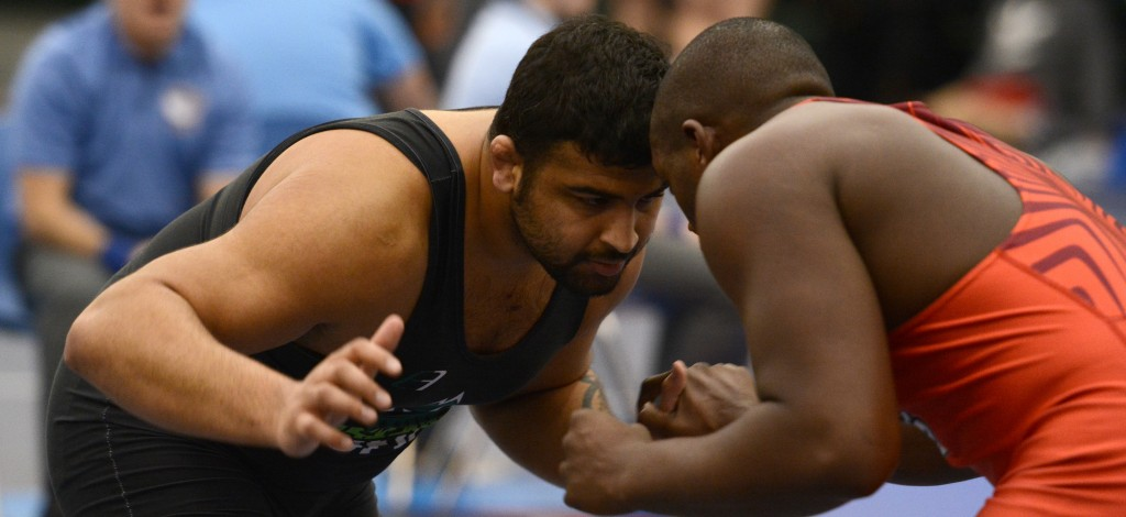 Chanmit Phulka won gold in the 100 kg division at the Canada West championship on Saturday.