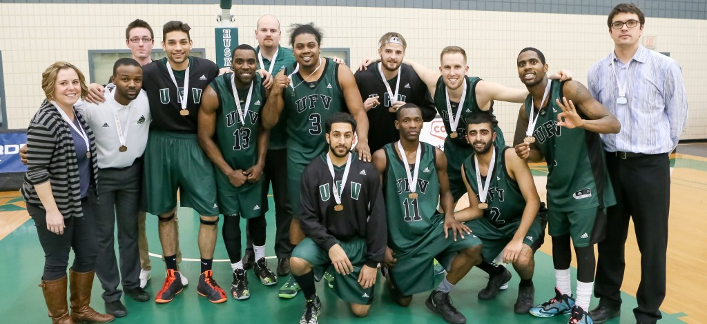 The Cascades' bronze medal marked the second Canada West podium finish in program history.  (Josh Schaefer Photography)