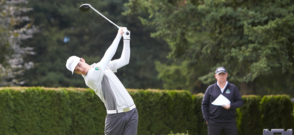 Aaron Pauls finished 12th in the individual men's standings at the Bandon Crossings tournament in Oregon.