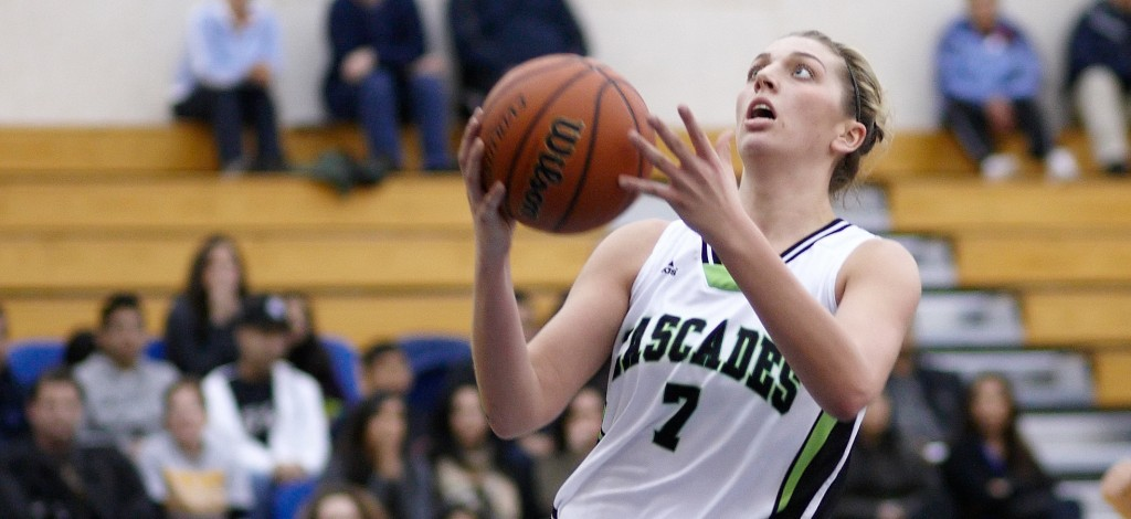 Kayli Sartori, who returns to the Cascades women's basketball program after a year off, is one of seven players who comprise Al Tuchscherer's 2015 incoming class.