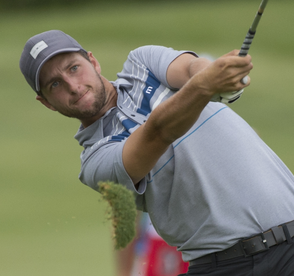 Cascades assistant golf coach Brad Clapp emerged victorious at the PGA Tour Canada's Great Waterway Classic. (PGA Tour Canada / Michael Burns photo)