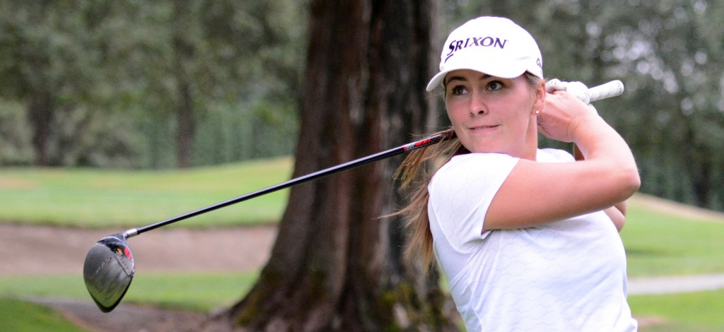 Hannah Dirksen won the Kwantlen Eagles' tournament by seven strokes on the weekend.