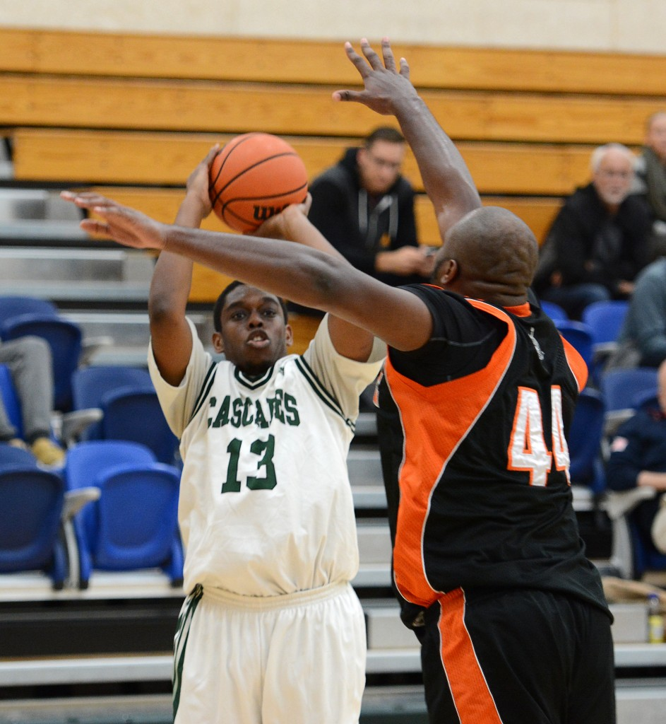Brandon Burke's debut with the UFV Cascades was highlighted by a game-winning buzzer-beater.