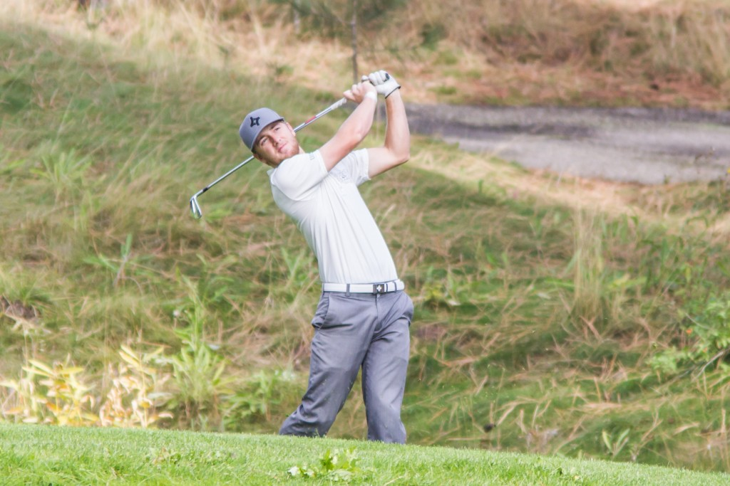 Connor O'Dell led the way for the UFV men's golf at at the Camosun tournament on the weekend. (File photo courtesy Greystoke Photography)
