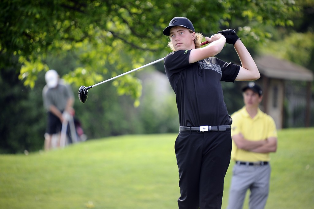 Zach Olson picked up his first career PacWest win on the weekend. (Graig Abel Photography / Golf Canada)