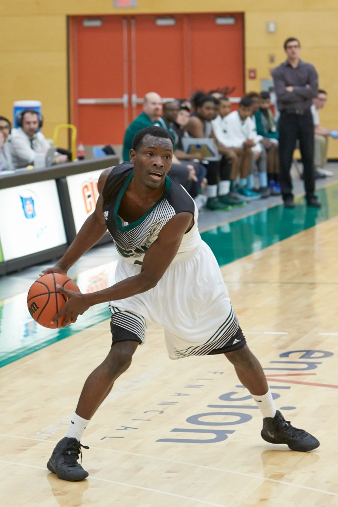Kevon Parchment's 16 points on Saturday included a key basket late in the fourth quarter to help pave the way for a 74-72 win over UNBC.