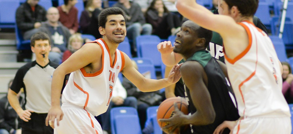 Kevon Parchment had 15 points and eight assists, but the TRU WolfPack prevailed on Friday evening in Kamloops.