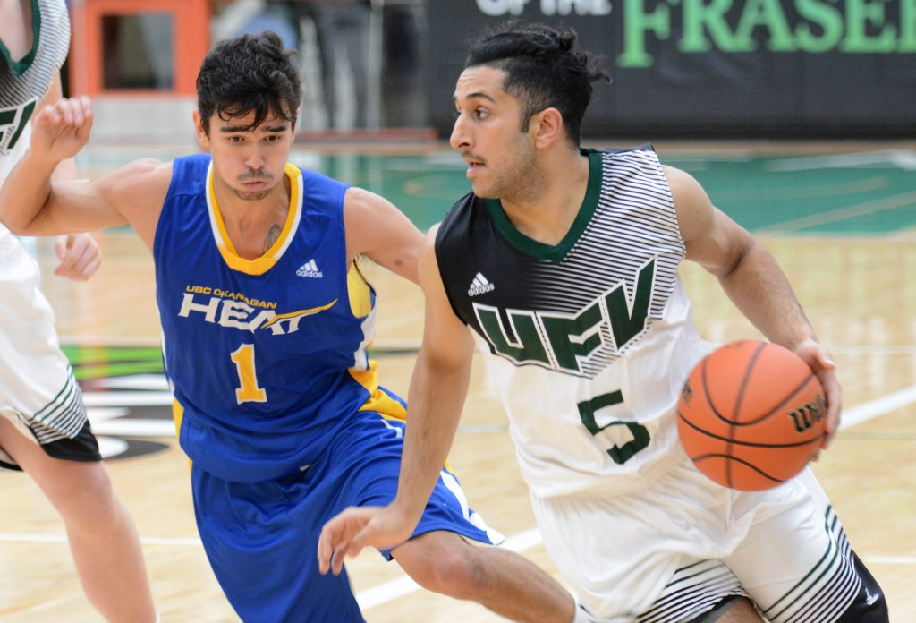 Vijay Dhillon poured in a game-high 26 points on Saturday night.