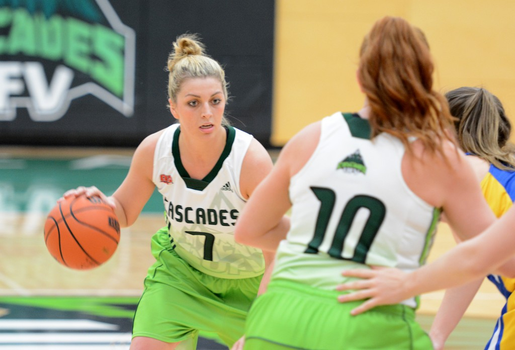 Kayli Sartori paced the Cascades with 17 points, but the hosts dropped a 63-59 decision to UBC Okanagan.