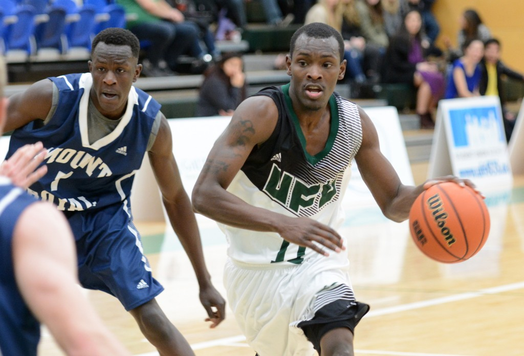 Kevon Parchment racked up 28 points, 14 rebounds, six assists, six steals and two blocks in Friday's victory over Mount Royal.