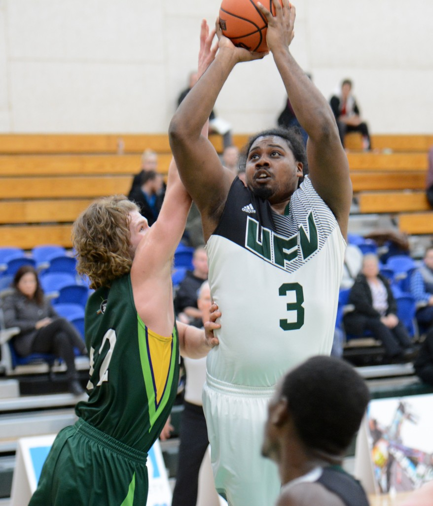 Nate Brown had seven points for the Cascades on Friday - all in the second half - to help spark a comeback vs. UNBC.