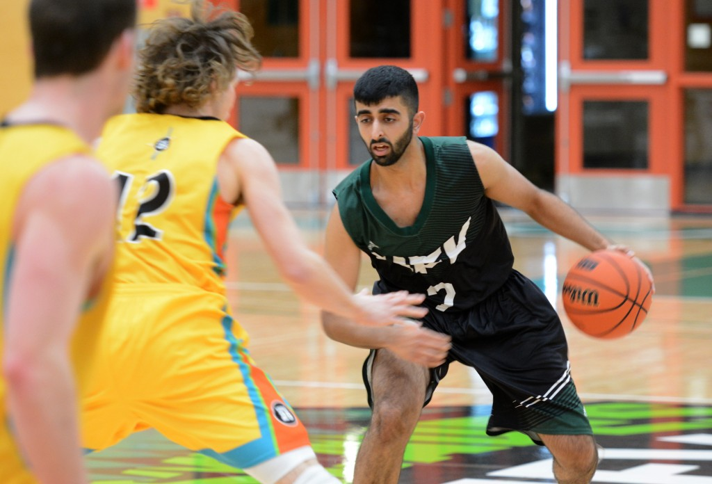 Cascades guard Manny Dulay had seven assists in Saturday's win.