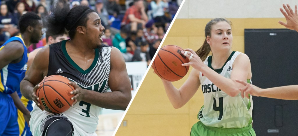 Nate Brown, Kate Head, and the rest of the Cascades hoopsters are in Edmonton this weekend to face the MacEwan Griffins.