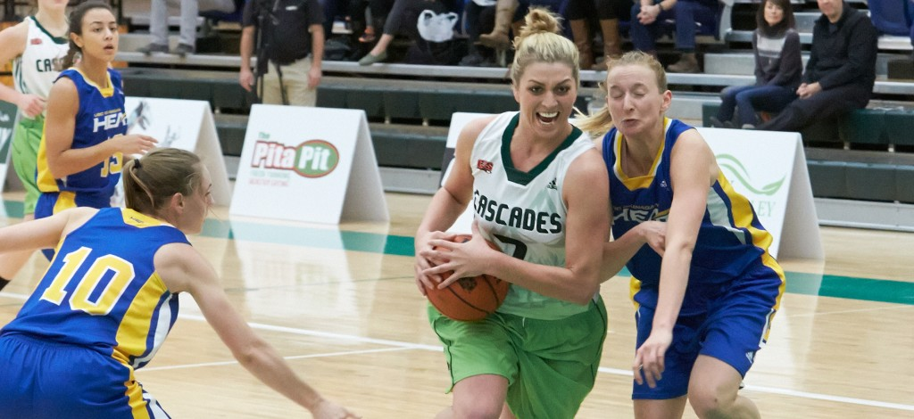 UFV's Kayli Sartori is the Canada West scoring leader as the second semester begins.