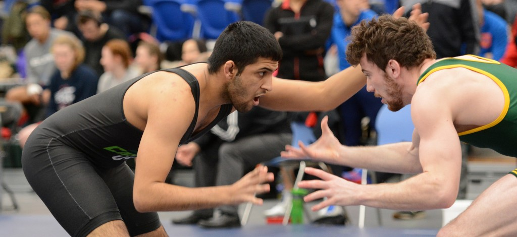 Devin Purewal went 1-4 en route to a fifth-place overall finish in the men's 72 kg weight class at the Canada West championships in Winnipeg. (UFV Athletics file photo)