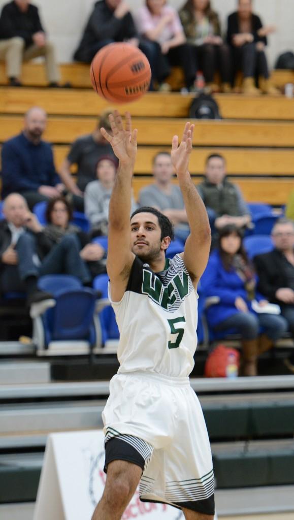 Vijay Dhillon scored 17 points and made some key baskets in the fourth quarter.