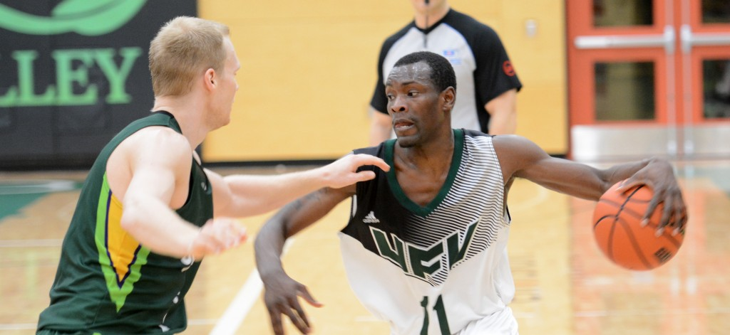 Kevon Parchment and the Cascades can ensure they'll finish no lower than second in the Explorer Division with a pair of weekend wins over UBCO.