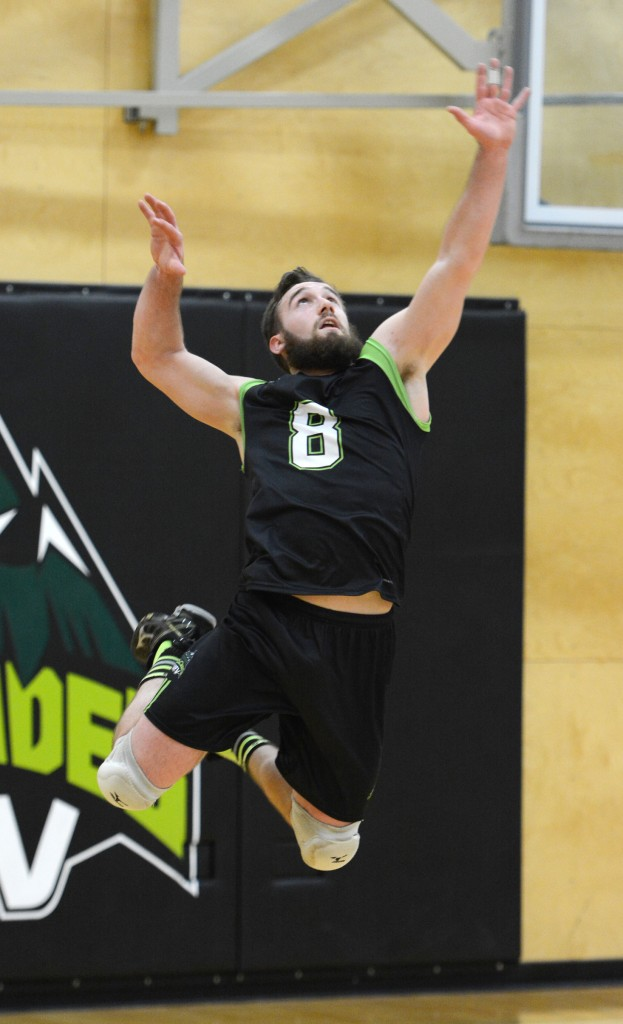 Cascades outside hitter Adam Chaplin was in fine form in Saturday's win over Capilano. (UFV Cascades file photo)