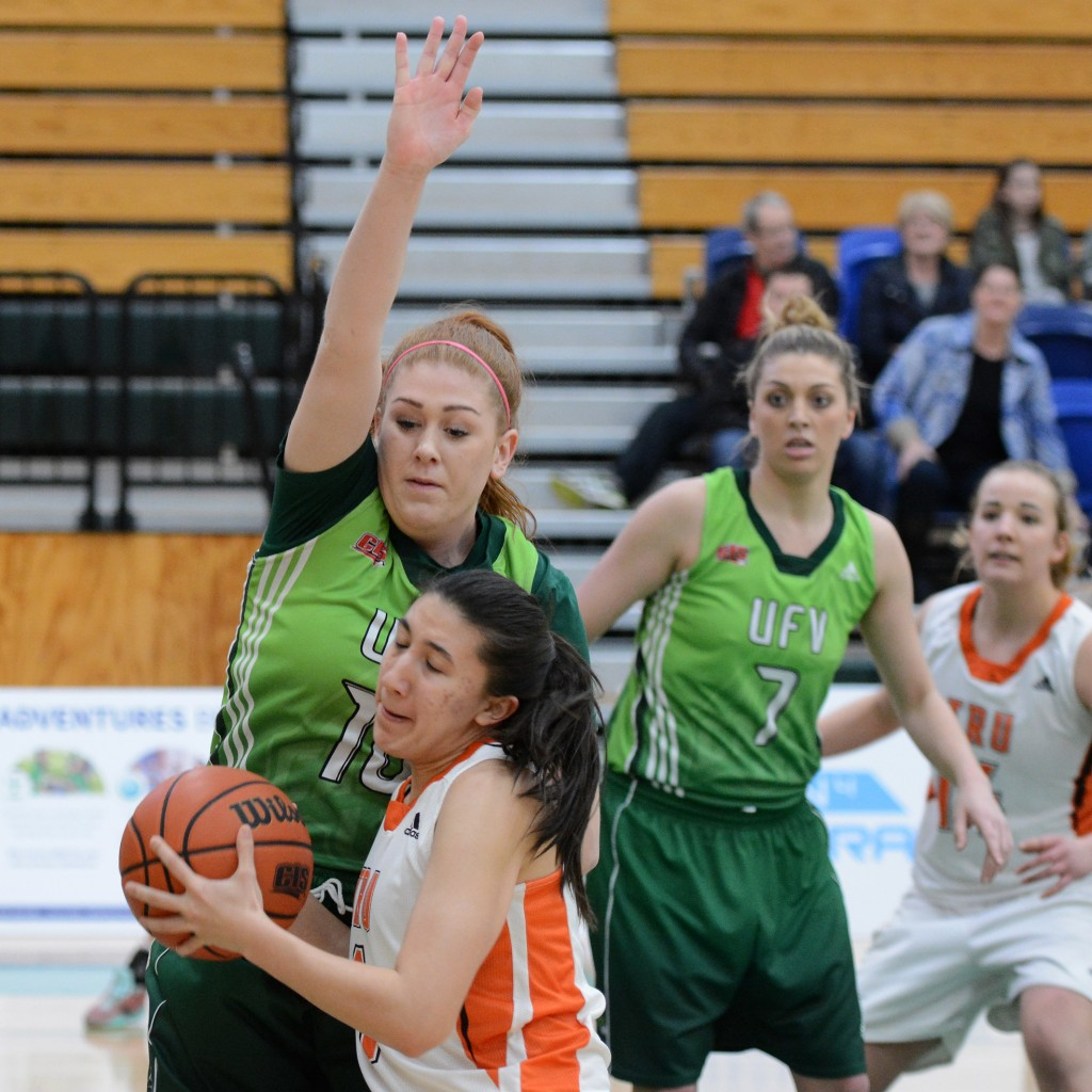 Taylor Claggett and the Cascades limited TRU to 23.6 per cent shooting from the field.