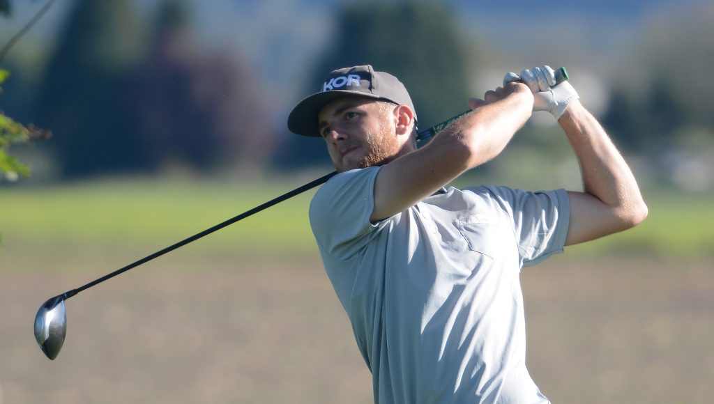 Connor O'Dell's two-under 70 was the best round of the day for the Cascades.