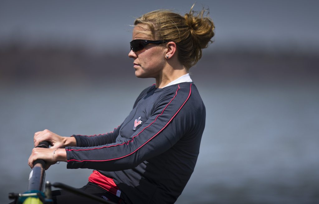 Lisa Roman got her start in the sport of rowing at UFV. She was a member of the Canadian women's eight which competed at the Rio Olympics this week, finishing in fifth place.