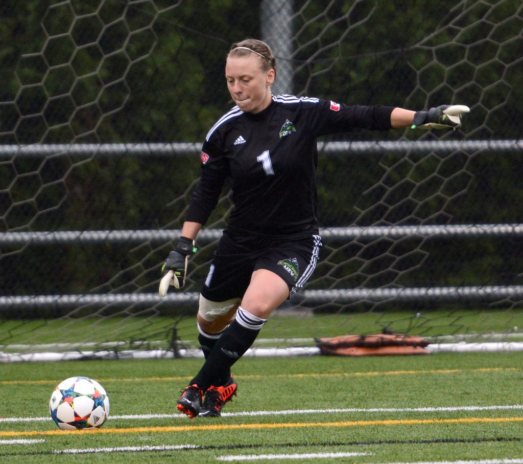 Now in her fifth year, Cascades goalkeeper Kayla Klim is among the best at her position in Canada West.