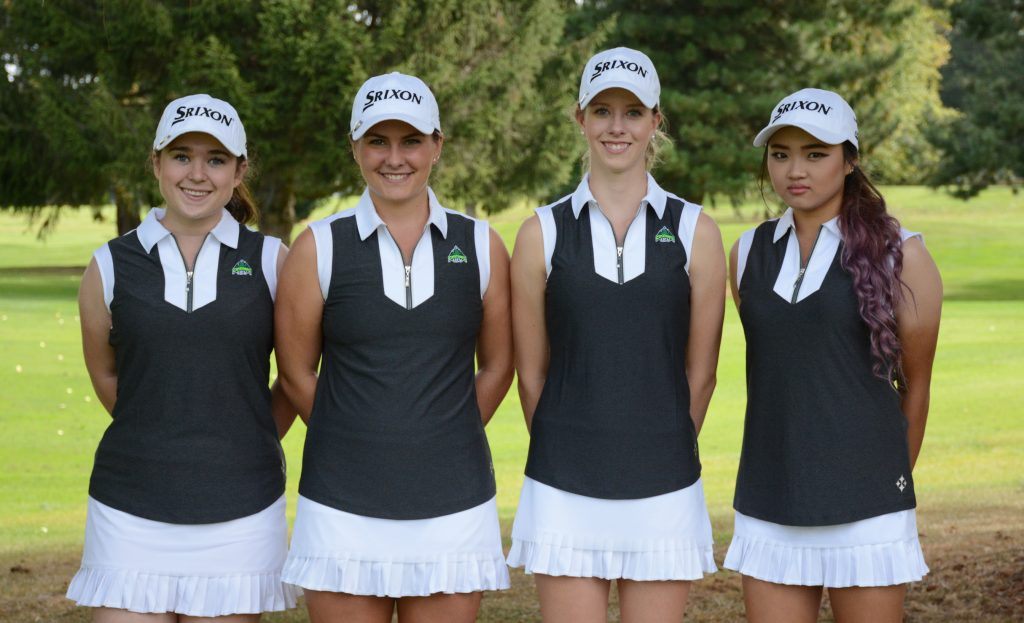 From left: Ciara Melhus, Hannah Dirksen, Jennifer Kell, Sharon Park.