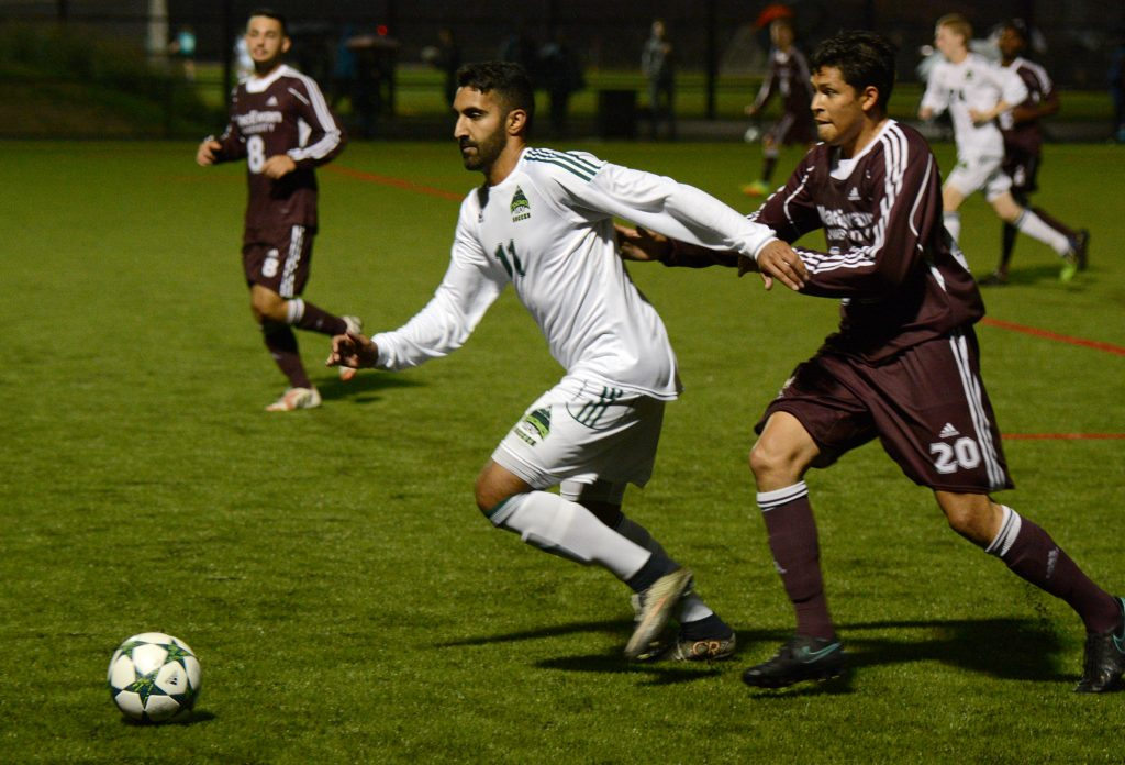 Justin Sekhon and the Cascades picked up their fourth clean sheet in five conference games this season.