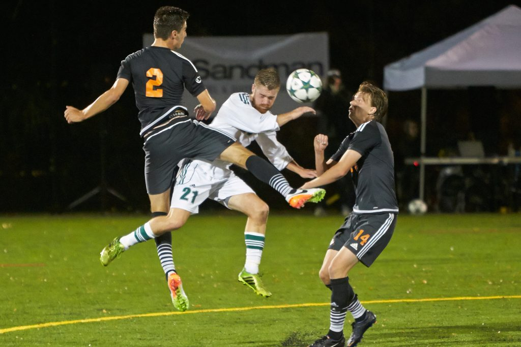 Cascades forward James Najman is one of four fifth-years whose careers will be celebrated on Saturday.