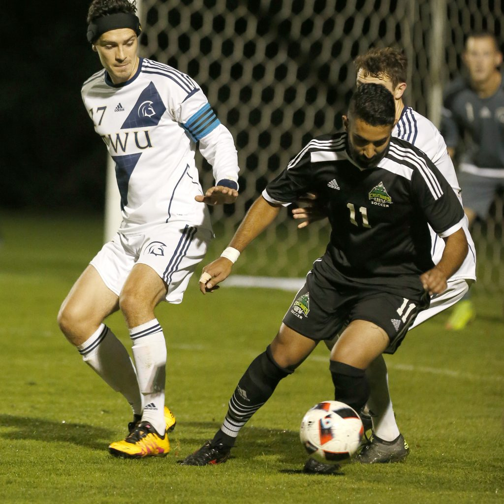 Justin Sekhon opened the scoring for the Cascades.