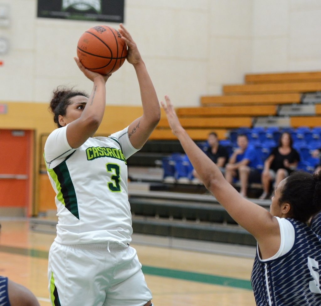 Shayna Litman paced the Cascades with 16 points in Thursday's clash with Alberta. (UFV Cascades file photo)