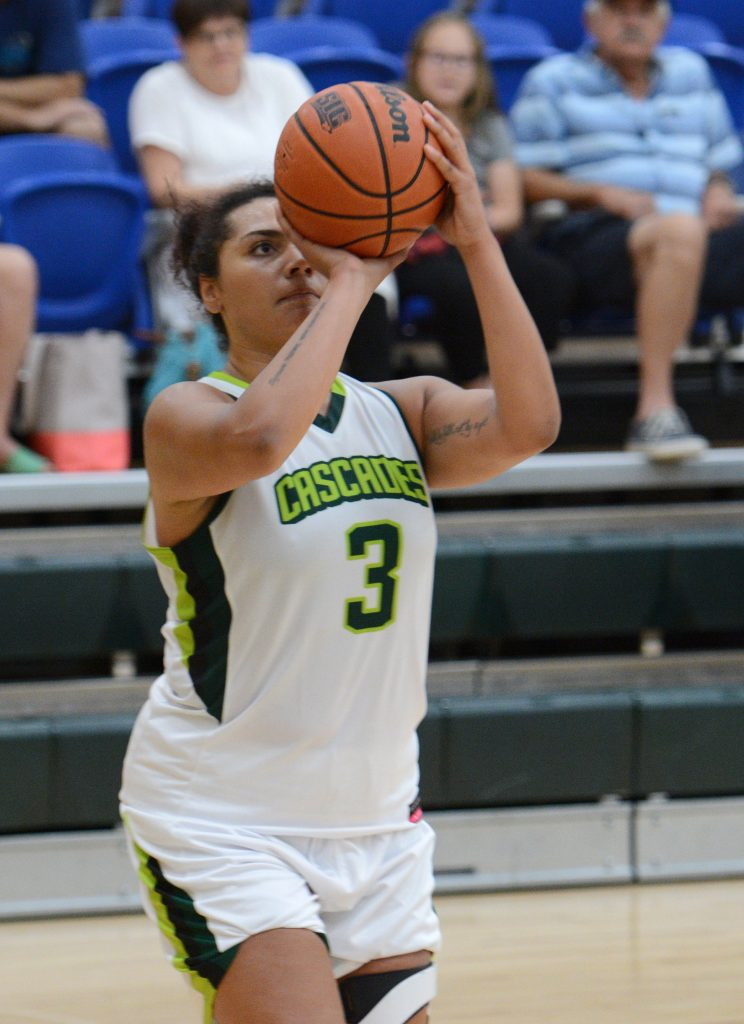 Shayna Litman scored 12 points in the Cascades' preseason win over Capilano on Saturday. (UFV Cascades file photo)