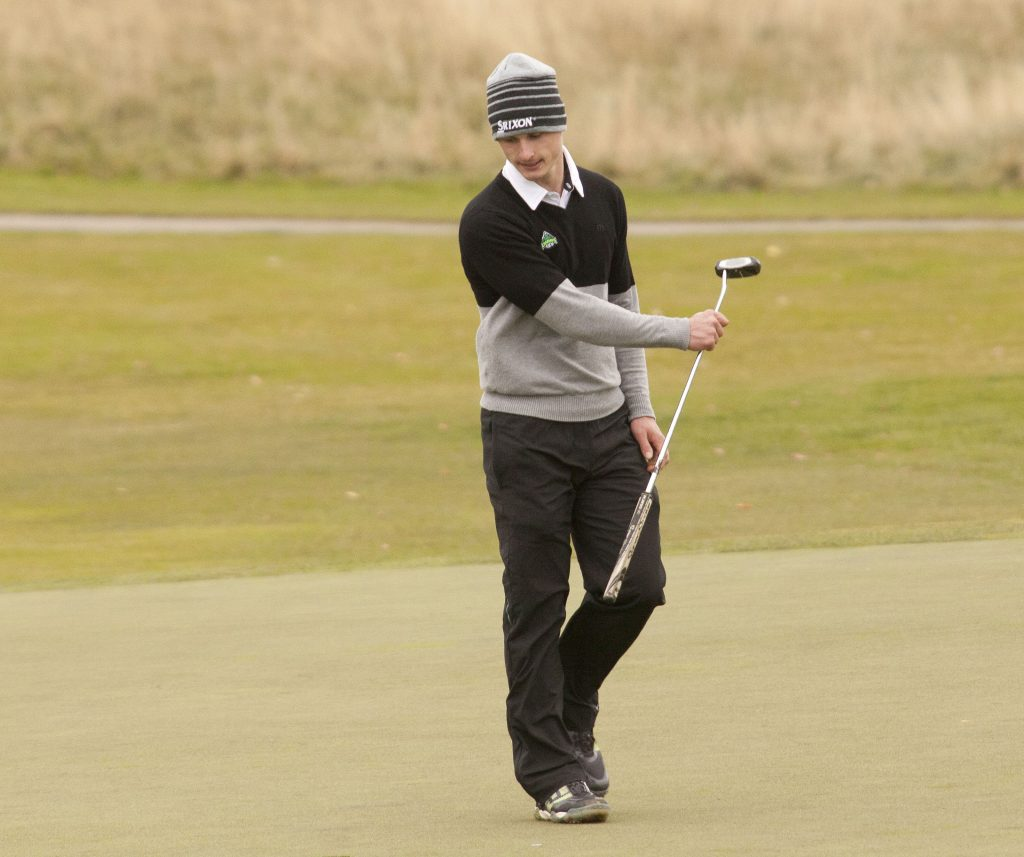 UFV's Cole Briggs finished tied for 28th at CCAA nationals.
