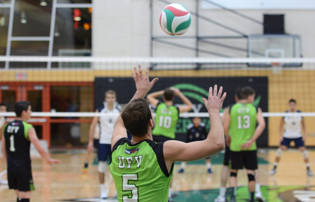 Nick Bruce (5) and the Cascades are hoping to continue a recent run of success against their local rival, the CBC Bearcats.