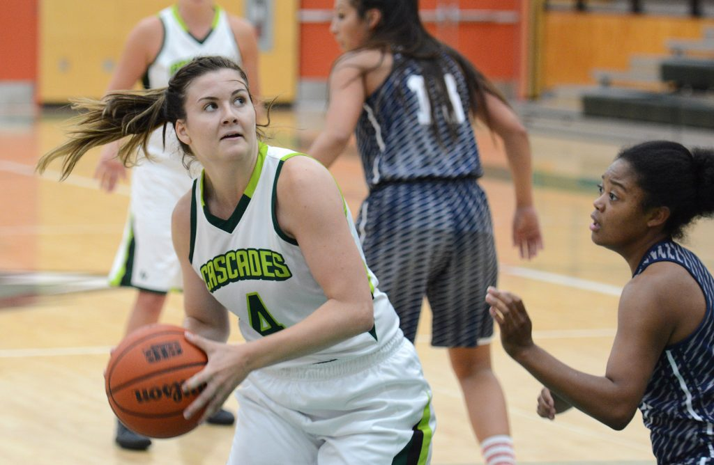 Sophomore point guard Kate Head and the Cascades will test themselves against some of the top teams in Canada this week in Regina.