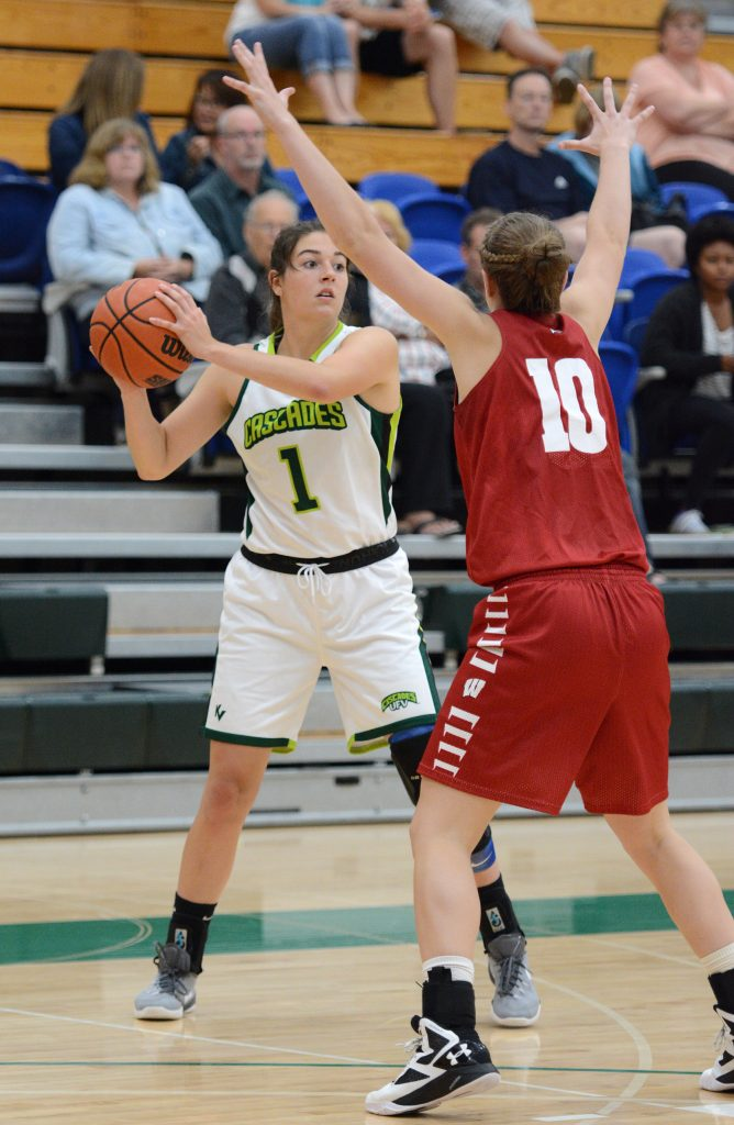 Jessica Zawada had a solid performance for the Cascades against the Regina Cougars on Friday. (UFV Cascades file photo)