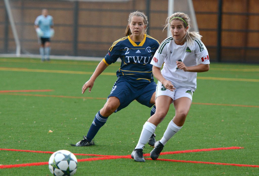 Danica Kump and the Cascades will be looking to avenge a 2-1 loss to TWU on Sept. 2.