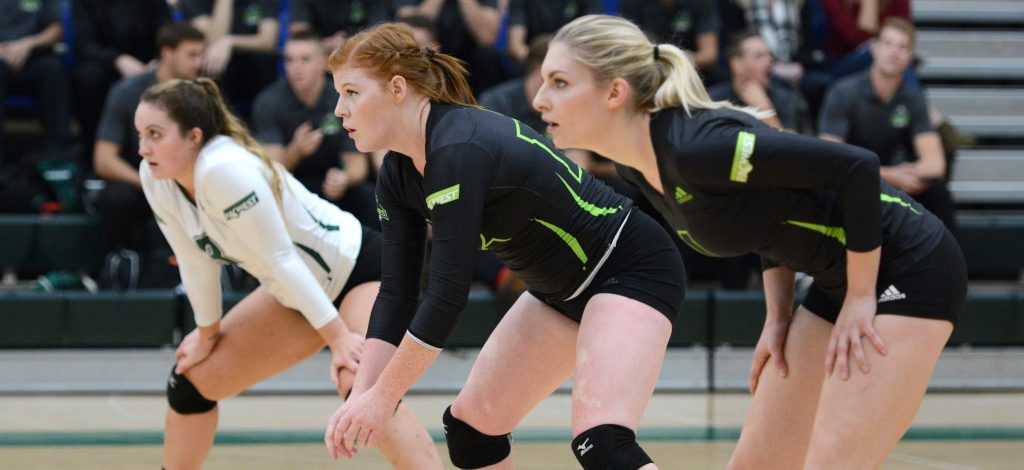Amy Davidson, Kim Bauder and Kelly Robertson are aiming to help the Cascades pick up their first win of the young season.