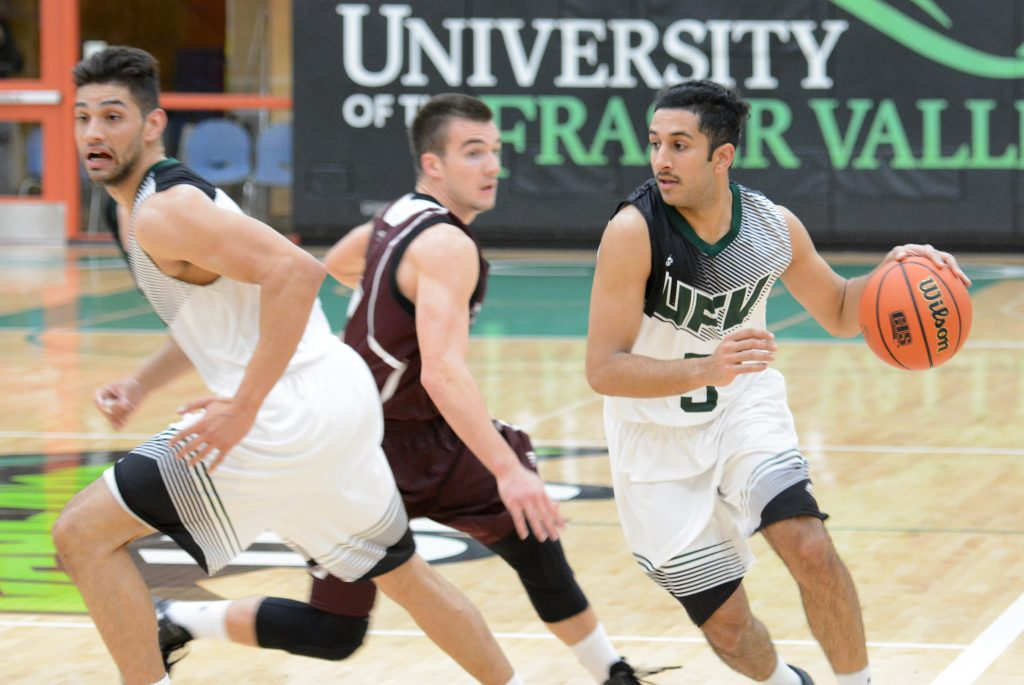 Vijay Dhillon (right) and Nav Bains (left) will be among the key contributors for the Cascades in 2016-17.
