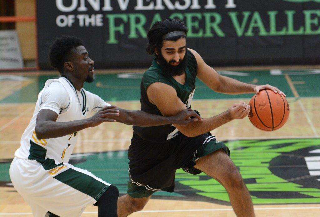 Manny Dulay had a team-high 22 points, but the UNBC Timberwolves prevailed 76-70 on Saturday.