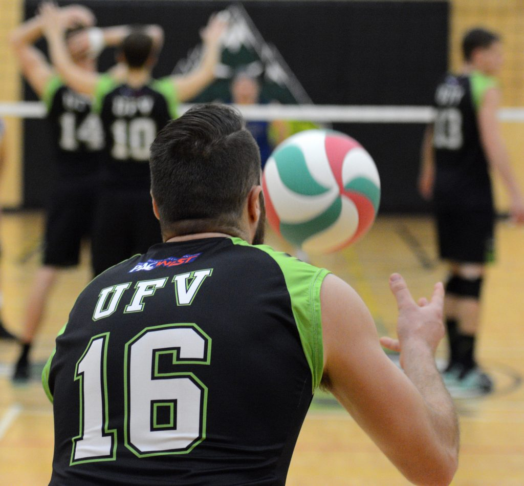 Dayton Pagliericci had a big game for the Cascades, racking up 14 kills on 16 attempts. (UFV Cascades file photo)