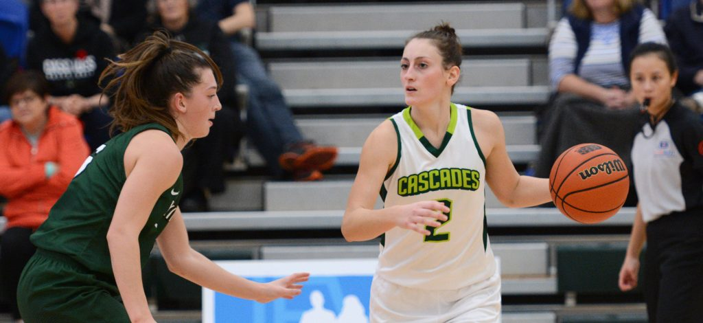 Sara Simovic scored 10 points in the Cascades' loss to TWU on Saturday. (UFV Cascades file photo)