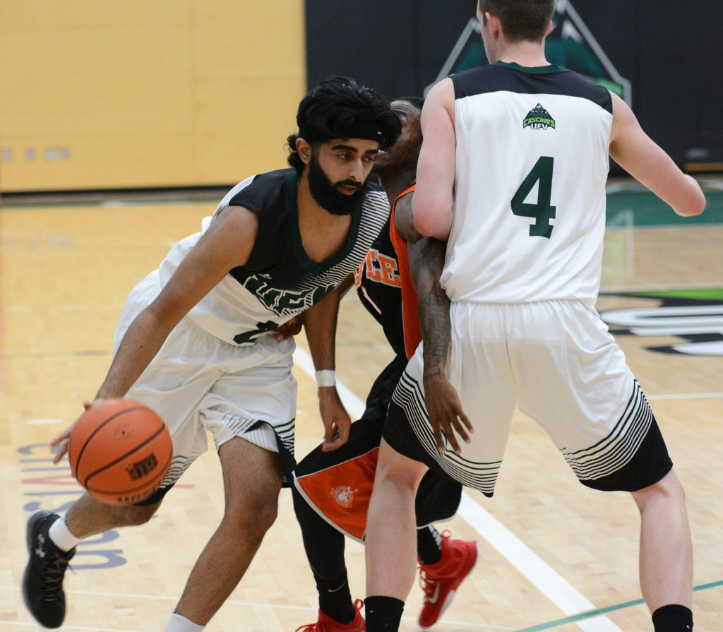 Manny Dulay scored a game-high 21 points as the Cascades defeated the Brandon Bobcats on Saturday. (UFV Cascades file photo)